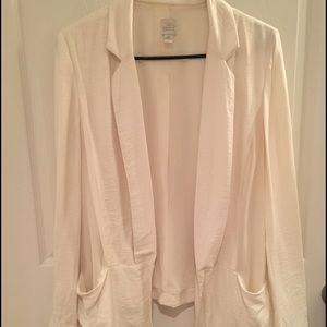 LC Lauren Conrad Jackets & Blazers - Lauren Conrad Off White Blazer