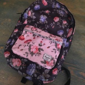 Herschel Supply Company Handbags - Herschel mixed floral Fine China pattern backpack