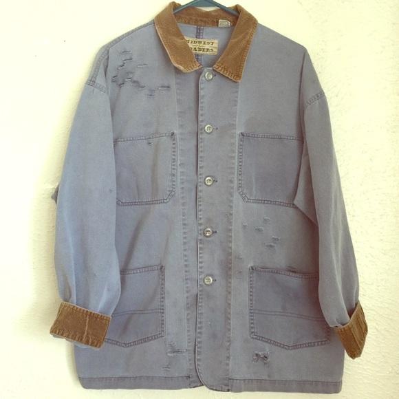 6c83e83dd0a91 Vintage Jackets & Coats | Vtg Distressed Field Coat Grunge ...