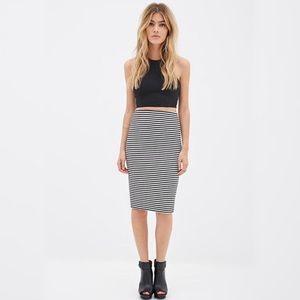 🆕Antonio Melani high waist Stripe