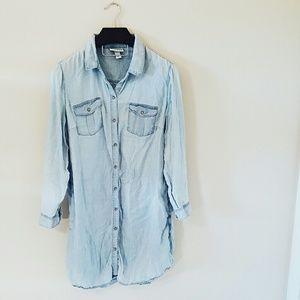 Ava & Viv Dresses & Skirts - Target chambray shirt dress! 1X