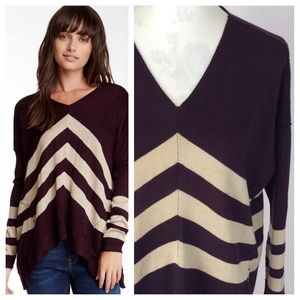 Cecico Sweaters - Cecico Fen Ditton Striped Pullover