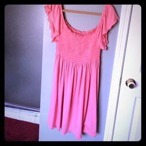 Always For Me Other - Babydoll Swimsuit Cover-Up or Dress in Coral