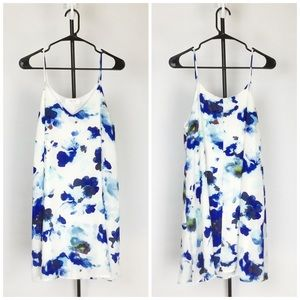 Floral Swing Tank with Pockets