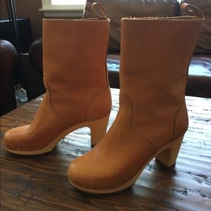 Swedish Hasbeens Shoes - Swedish Hasbeens Clog Boot Size 8