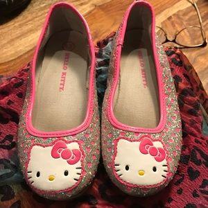 Hello Kitty Other - Hello Kitty Shimmering Flats Sz13
