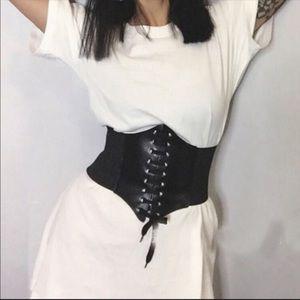 Accessories - Black Corset Belt NWOT SALE Party