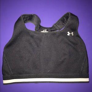 Under Armour Other - Under armor black clip sports bra