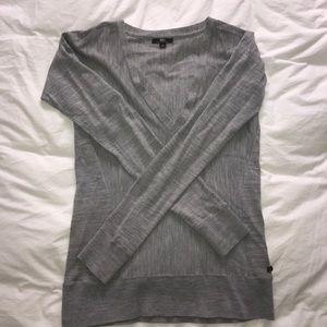 Emu Sweaters - Gray Emu Merino Wool Sweater
