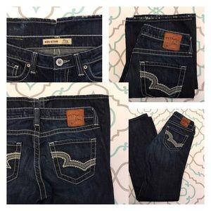 """Big Star Denim - 💙👖Beautiful Big Star Jeans!👖💙27L 3/4 34"""" Dark!"""
