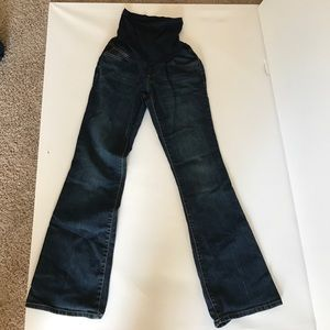 Maternity jeans. Medium