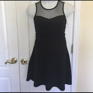 Kandy Kiss fit and flare black sleeveless dress 6