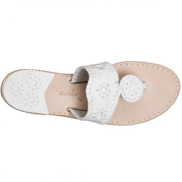 6d0c2c5e0c29d1 Jack Rogers Shoes - Jack Rogers Palm Beach Sandal White
