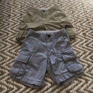 GAP Other - Set of 2 babyGap Boys Cargo shorts