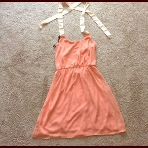 100% polyester dress from Lulus.