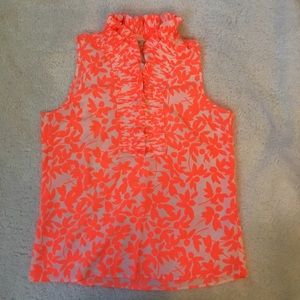 J. Crew Tops - J.Crew NEW WITH TAG ruffle floral blouse