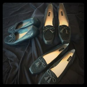 array Shoes - Array flats Navy blue and black available