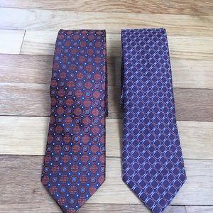 Black Brown 1826 Other - Mens Tie Bundle Bruno Piattelli & Black Brown 1826