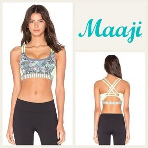 Maaji Other - NEW!  Maaji Leafy Dune reversible sportsbra