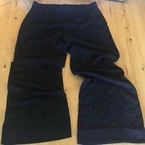CABI Wide leg dress pants. Thin and comfortable