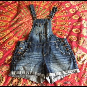 lei Denim - SOLD lei Overall Shorts