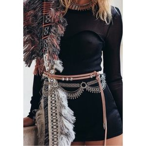 Stone Cold Fox Accessories - ➡NWT Stone Cold Fox Valencia Suede Wrap Belt⬅