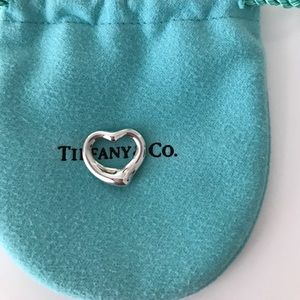 Tiffany & Co. Jewelry - Authentic tiffany and co open heart pendant
