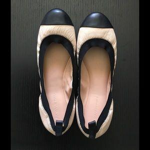 Banana Republic Shoes - Nude & Black Ballet Flats