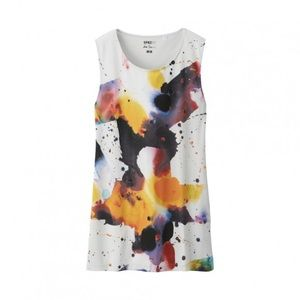 Uniqlo Tops - SOLD 💕💕NY Uniqlo Sam Francis Tank Paint Splatter