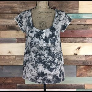 Urban Outfitters Tops - We the Free Grunge Holey Tee Shirt - XS