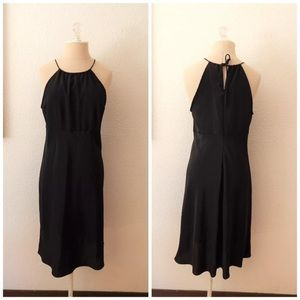 Vintage 90s Bare Shoulder Bias Cut Sexy Dress