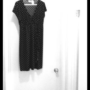 No Boundries Dresses & Skirts - Maternity Black Polka Dots Dress