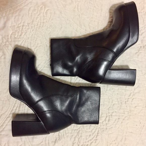42217bcc72e NEW 💙 VINTAGE 90's Steve Madden Patrice Boots NWT