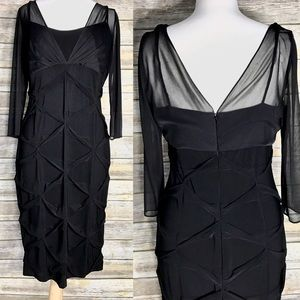 Alex Evenings Dresses & Skirts - Stunning cocktail dress very slimming black 10