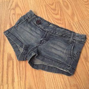 Paris Blues Pants - PARIS BLUES stretchy Jean shorts