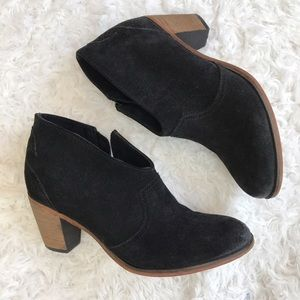 Johnston & Murphy Shoes - Johnston & Murphy Black Suede Ankle Booties