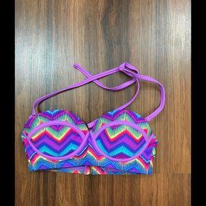 Exhilaration  Other - Target Exhilaration Padded Neon Bikini Top XS