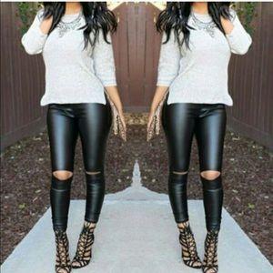 MCKINNLEY chic slick leggings - BLACK