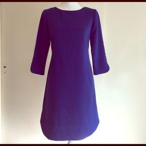 Eliza J Dresses & Skirts - Eliza J Cobalt Blue 3/4 Sleeve Dress Sz 4P!