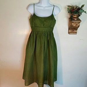 Jones Wear Dresses Dresses & Skirts - Green Spring/Summer Dress by Jones Wear