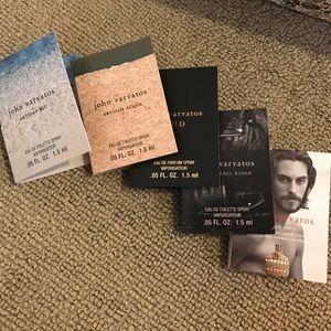 John Varvatos Other - john varvatos sample perfumes bundle