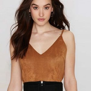 Urban Sweetheart Tops - ✨ONLY 2 LEFT✨ Debbie Faux Suede Top