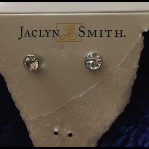 Jaclyn Smith Jewelry - Never worn diamond earrings