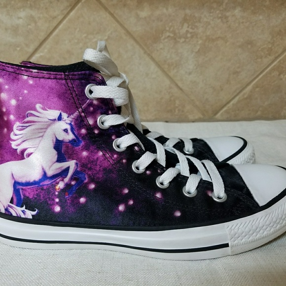 buy popular 30734 631f9 Converse Shoes - Converse All-Star Unicorn Galaxy High Tops