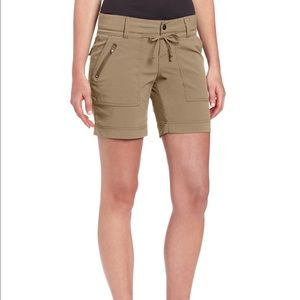 Prana Pants - Prana 'Nora' Hiking Shorts in Coal