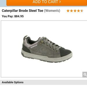 Caterpillar Shoes - 7 New CAT womens Steel Toe shoes