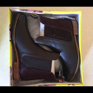 Joules Shoes - Joules Westbourne Oxblood ankle boots Size: 9