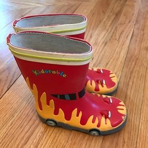 Kidorable Other - Boy's Kidorable Rain Boots Toddler Size 9
