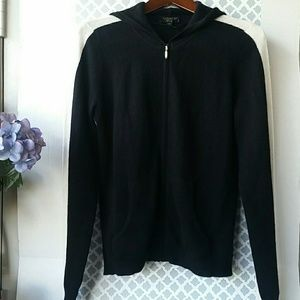 Charter Club Sweaters - Charter Club Cashmere zippered hoodie. Size M