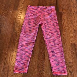 Fabletics Pink Capri Leggings